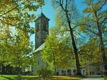 Garnisonskirche im Herbst, © Festung Königstein gGmbH