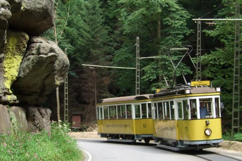 Kirnitzschtalbahn (c) Oberelbische Verkehrsgesellschaft Pirna-Sebnitz mbH