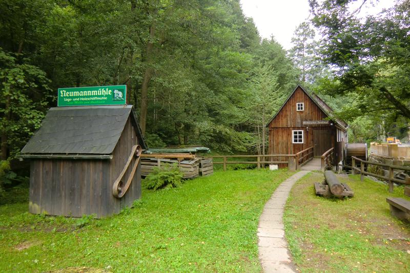 Schauanlage Neumannmühle (c) Schauanlage Neumannmühle e.V.